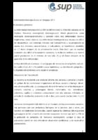 Enfermedad meningocóccica en Uruguay 2017