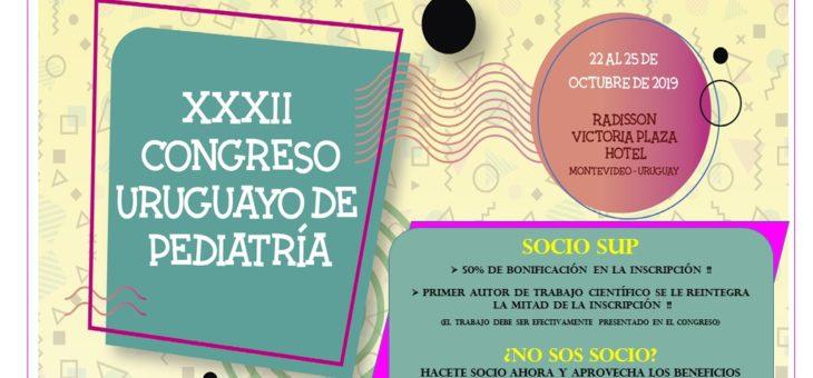 XXXII CONGRESO URUGUAYO DE PEDIATRÍA