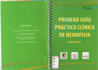 Primera Guía practica clínica de hemofilia