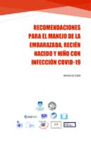 Recomendaciones COVID-19 Embarazada, Recién Nacidos y Niños (Actualizado)