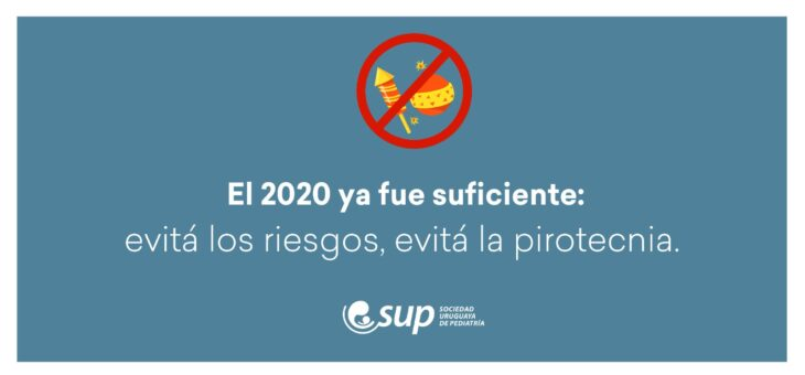 El 2020 ya fue suficiente: evitá los riesgos, evitá la pirotecnia